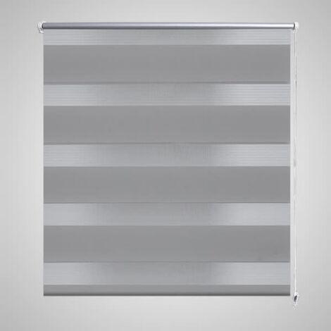 Persiana Cebra 120 x 230 cm Gris - Gris