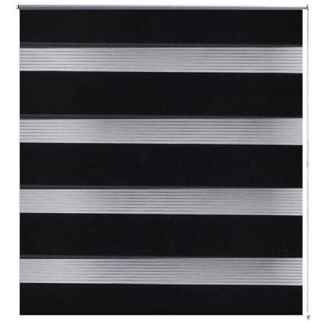 Persiana Cebra 40 x 100 cm Negro