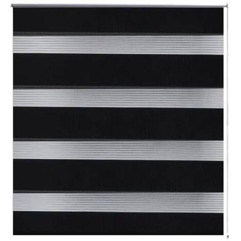 Persiana Cebra 70 x 120 cm Negro