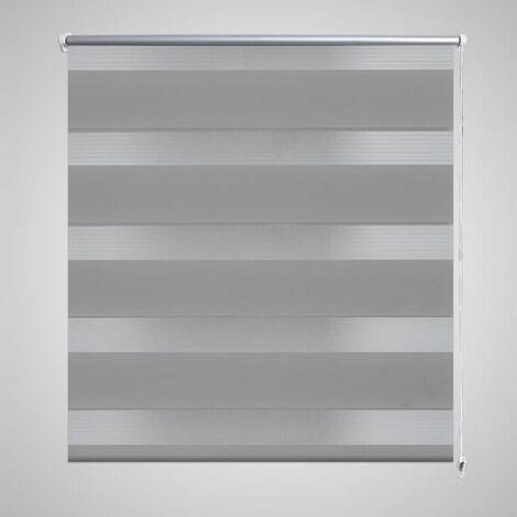 Persiana Cebra 80 x 150 cm Gris