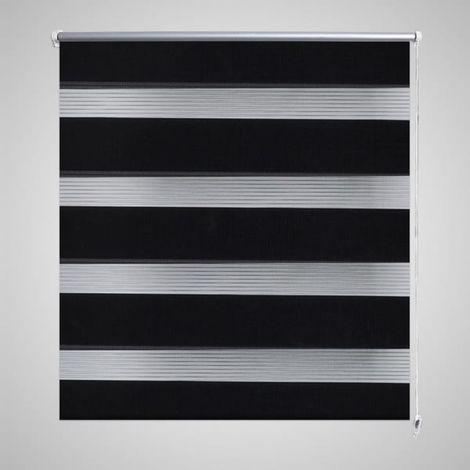 Persiana Cebra 80 x 150 cm Negro