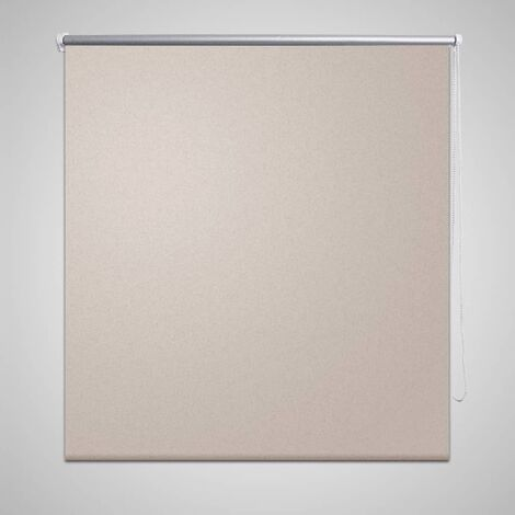 Persiana opaca enrollable beige 100x175 cm
