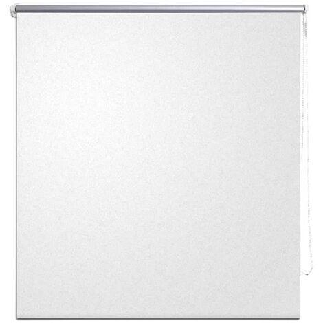 Persiana opaca enrollable blanco crudo 120x175 cm