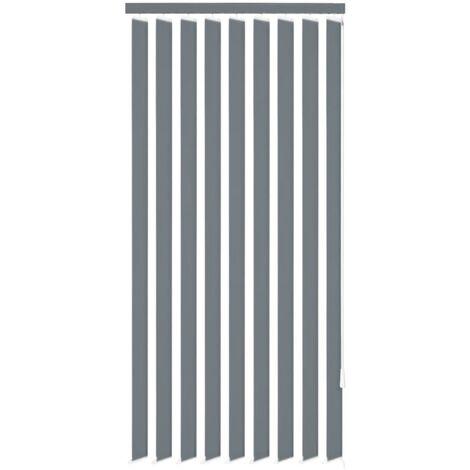 Persiana vertical tela gris 120x250 cm
