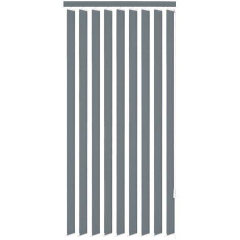 Persiana vertical tela gris 150x250 cm
