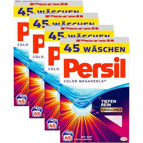 Persil Color Megaperls 4er Pack Colorwaschmittel 4x45 Waschladungen Waschmittel