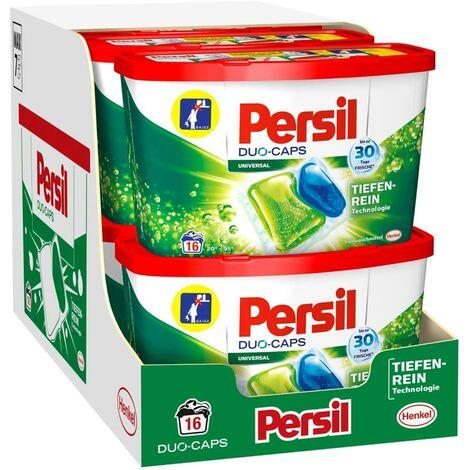 Persil Duo-Caps 8er Pack Vollwaschmittel 8x16 Waschladungen Waschmittel