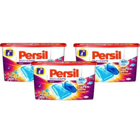 Persil Duo-Caps Color 3er Pack Colorwaschmittel 3x56 Waschladungen Waschmittel