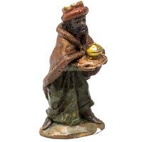 a513d6f11fef Personaggio del presepe di Natale re magio Baldassarre 9cm