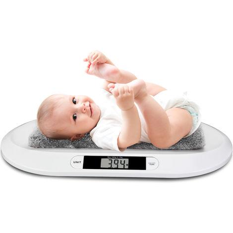 Pèse bébé numérique enfant animaux max. 20 kg arrêt et fonction Tare automatique