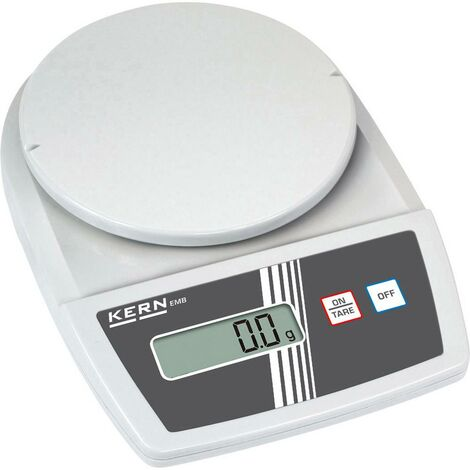 Pèse-lettre Kern Plage de pesée (max.) 1.2 kg Lisibilité 0.1 g