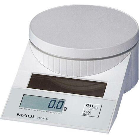 Pèse-lettre Maul MAULtronic S 2000 Plage de pesée (max.) 2 kg Lisibilité 0.5 g