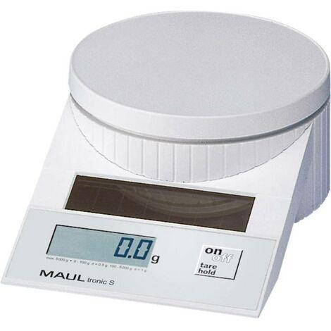 Pèse-lettre Maul MAULtronic S 5000 Plage de pesée (max.) 5 kg Lisibilité 2 g, 5 g