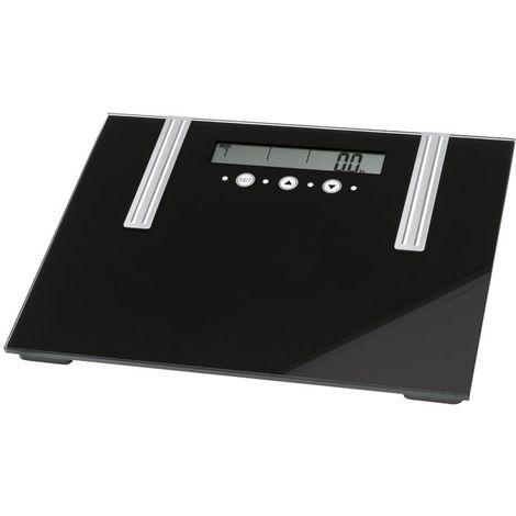 Pèse-personne 6 fonctions dans un appareil verre poids eau muscles AEG PW5571 FA