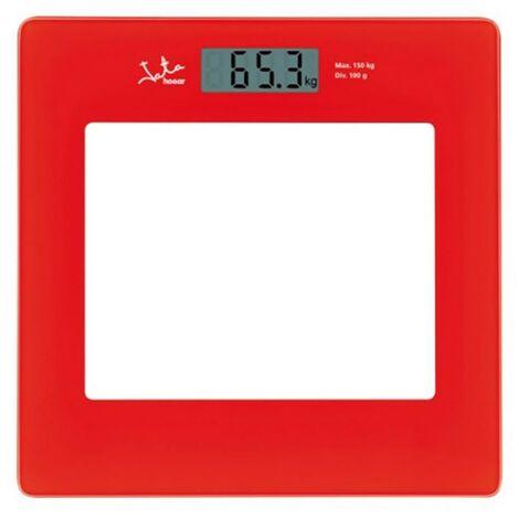 Pèse-personne électronique 150Kg Red Jata Hogar