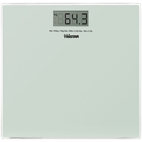 Pèse-personne électronique 160Kg Wg-2419 Tristar
