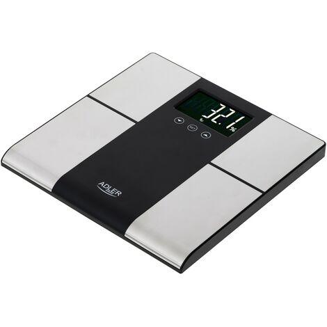 Pèse-personne électronique - Adler AD 8165 avec analyseur - 225KG