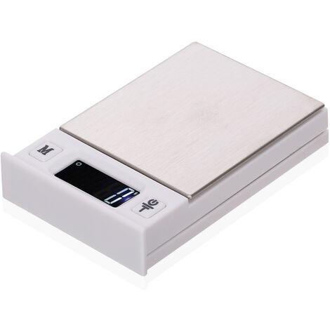 Pese-personne electronique de cuisine en forme de carte a jouer / balance a bijoux (sans batterie) plage de 200 g, precision de 0,01 g