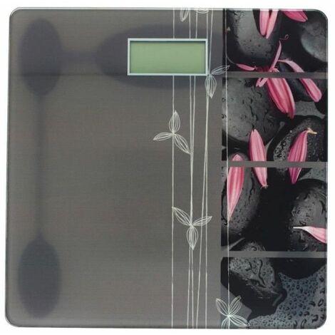 Pèse personne électronique - Décoration zen - Accessoire salle de bain