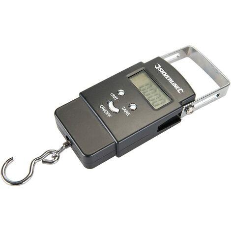 Peson électronique de Poche 50 kg, Noir