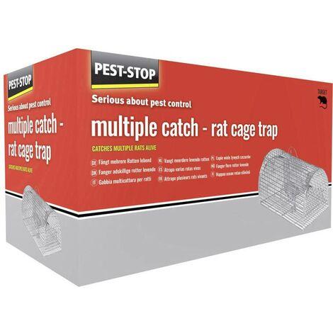 PEST STOP Multicatch Rat Cage PSRMCAGE Q147892
