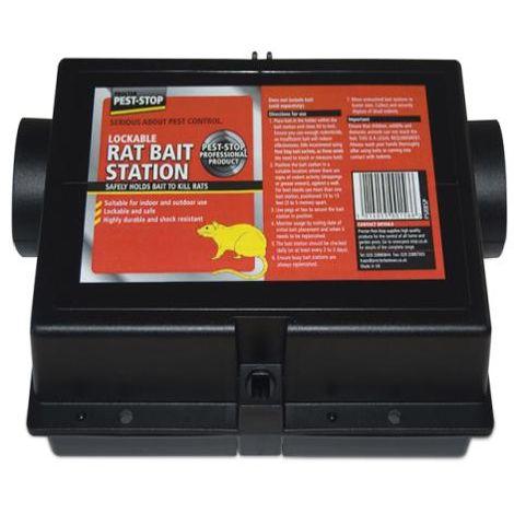 Pest-Stop Rat Bait Station (Plastic)