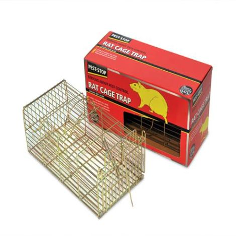 Pest-Stop Rat Cage Trap 14in
