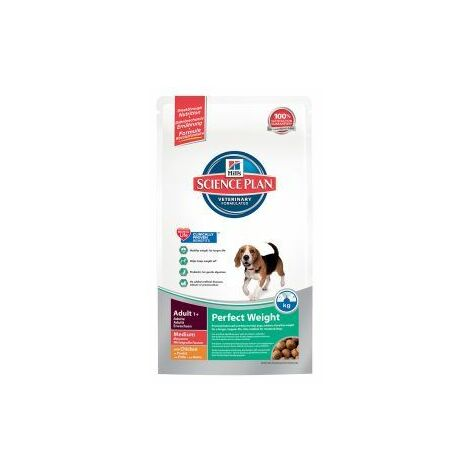 PET-141781 Hills Science Plan Canine Adult Perfect Weight Medium Breed Chicken (2kg)