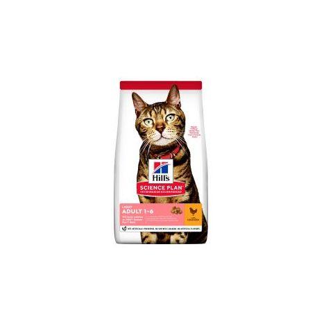 PET-529626 Hills Science Plan Feline Adult Light Chicken (10kg)