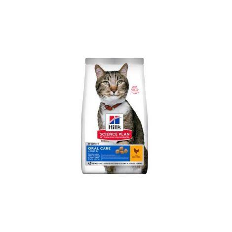 PET-546415 Hills Science Plan Feline Adult Oral Care Chicken (1.5kg)