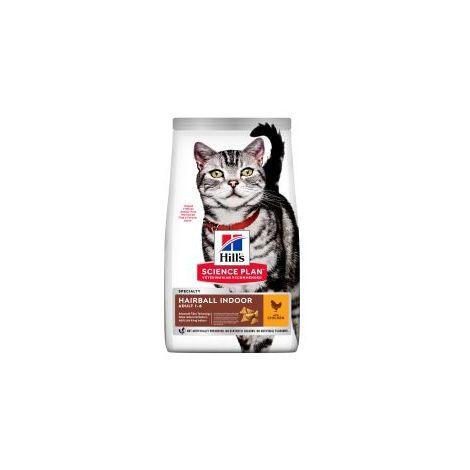 PET-546417 Hills Science Plan Feline Adult Indoor Cat Chicken (1.5kg)