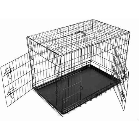 "Pet Cage Black Small 24"""