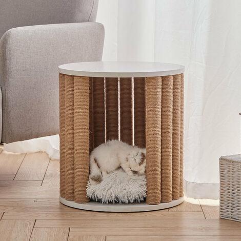 Pet Cat Climbing Tree Kitten Scratching Post Play Furniture With Plush Cushion