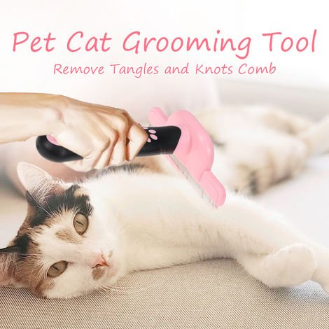 Pet Cat Grooming Tool Remove Tangles and Knots Comb Shedding Brushes