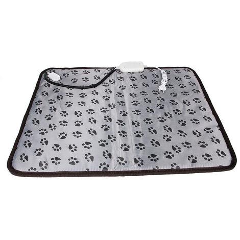 Pet Dog Cat Heating Pad Waterproof Warmer Mat Bed 45*45cm