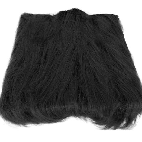 Pet Dog Lion Head Wig (Black Without Ears)