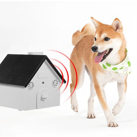 Pet Dog Safe Outdoor Bark Control Ultrasonic Sound Anti Barking Device Dogs Training Control Tool