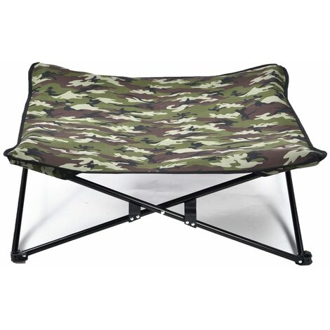 @Pet Dog Stretcher Army Print Green