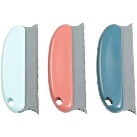 Pet Hair Epilator Brush - Pack of 3 Cat Dog Epilator Comb, Anti-Plush For Sofa, Furniture, Carpets, Clothes, Covers, Car, Bed