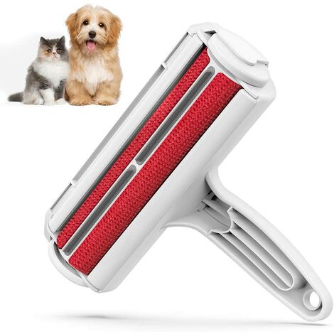 """main image of """"Pet Hair Remover Roller - Dog & Cat Fur Remover with Self-Cleaning Base - Efficient Animal Hair Removal Tool - Perfect for Furniture, Couch, Carpet, Car Seat"""""""