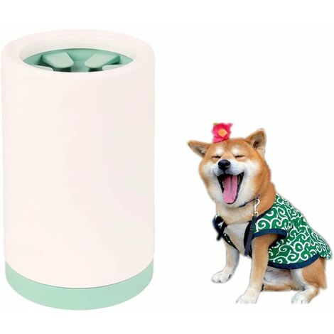 Pet Leg Cleaner, Dog Cleaner, Flexible Silicone Feet Cleaner for Cleaning Dog Paws, Portable Pet Portable Pet Cleaner