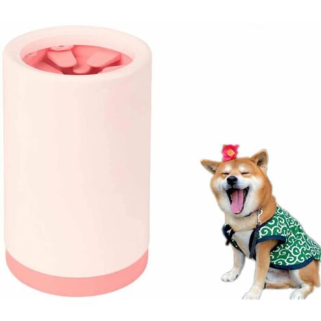 Pet Leg Cleaner, Dog Cleaner, Flexible Silicone Feet Cleaner for Cleaning Dog Paws, Portable Pet Portable Pet Foot Cleaner