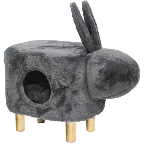 Pet Nest House Stool Sofa Cradle Cat little Dog Home Kennel Sleeping Area