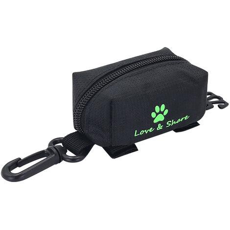Pet Poop Bag Waste Bag Dispenser Black