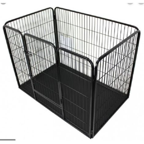 Pet Puppy Playpen Folding Dogs Cats Rabbits Run Cage