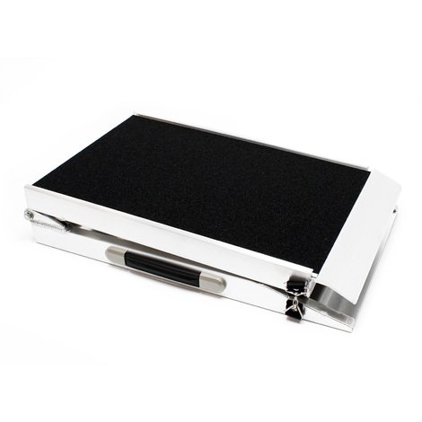 Pet ramp Aluminum foldable nonslip 122x38cm 110kg