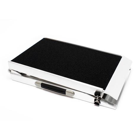 Pet ramp Aluminum foldable nonslip 244x38cm 110kg