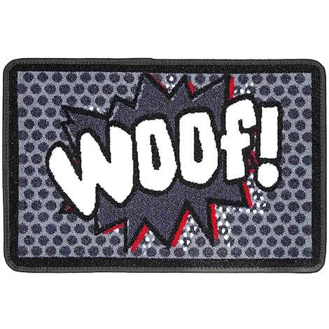 Pet Rebellion Woof Food Mat (40 x 60cm) (Grey)