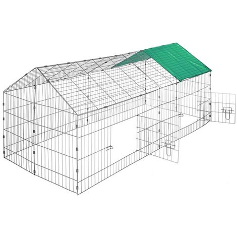 Pet Run Cage Metal PRC01 Green