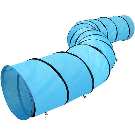 Pet Tunnel Puppy Dog/Cat Agility Training 5.5M Outdoor Obedience Exercise Runway